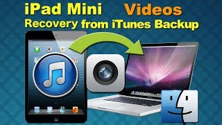 iPad Mini Recovery management, Recover Deleted Videos from iPad Mini by smart recovery software