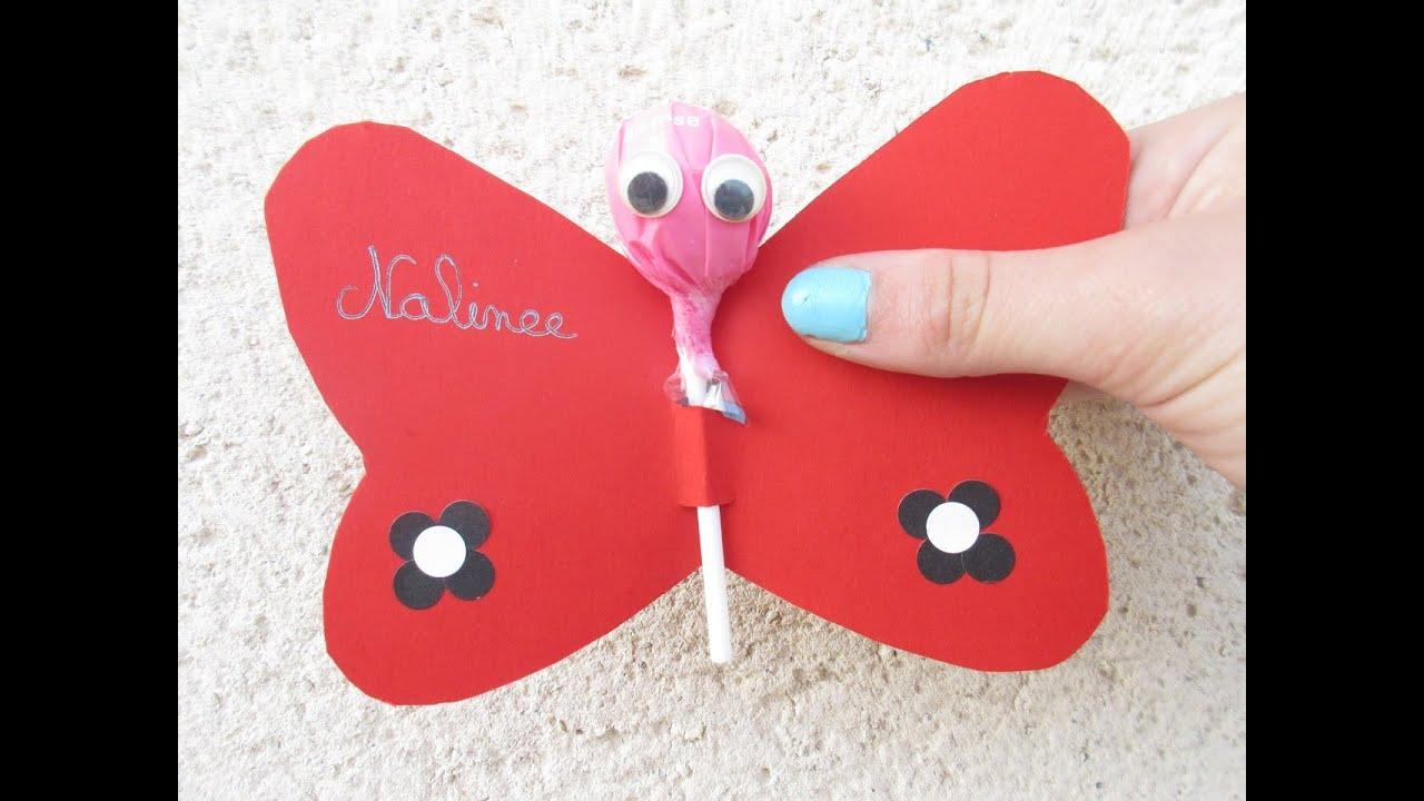 Populaire DIY La sucette papillon - YouTube EB45