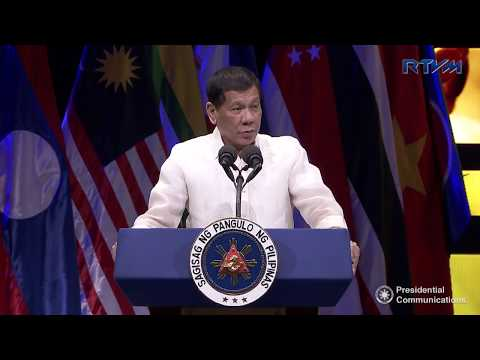 Grand Celebration of the 50th Anniversary of ASEAN (Speech) 8/8/2017