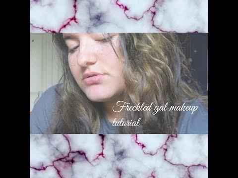 Freckled Gal Makeup Tutorial