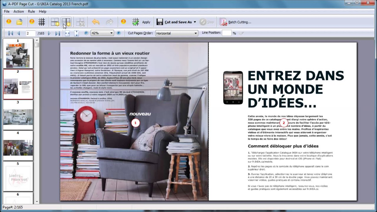 How To Cut One Pdf Page To Multiple Pages By Using A Pdf