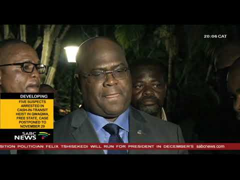 Felix Tshisekedi to run for president in the December DRC polls