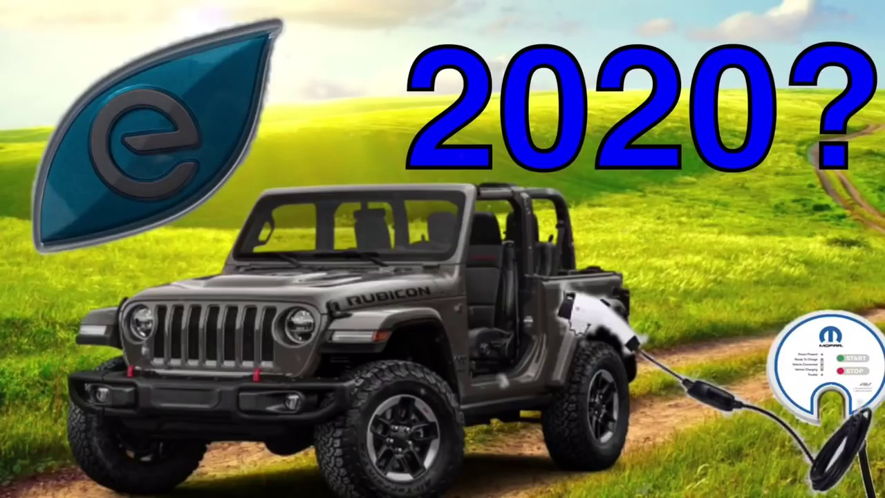 2018 Jeep Wrangler Diesel 3 0 🔴 2018 Jeep Wrangler Hybrid plugin 🔴 (Jeeps  future engine options)