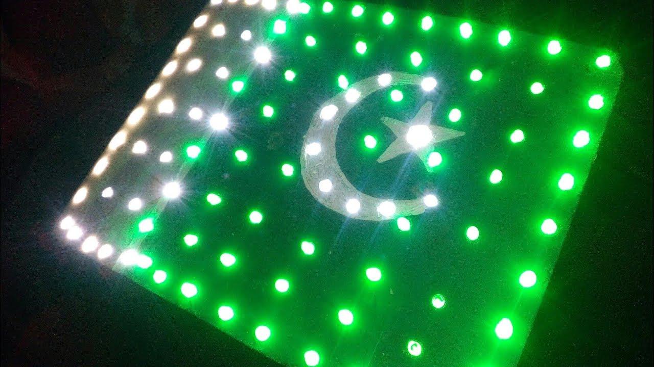 PAKISTAN LED Flag - YouTube