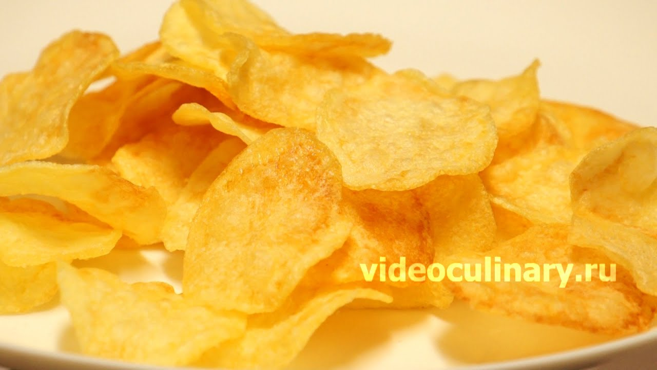 Как сделать чипсы на сковороде рецепт фото 1000
