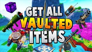 How To Get All VAULTED Items In Fortnite CREATIVE (Working) Fortnite Vaulted Items Glitch
