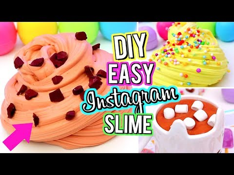 Thumbnail: AMAZING DIY INSTAGRAM SLIME! Best Slime Recipes Ever! How To Make Slime!