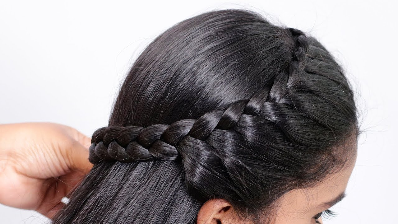 easy college hairstyles | Simple hairstyle | Easy hairstyles | Trendy hairstyles | new hairstyle