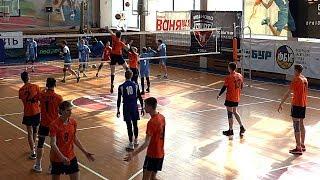 Волейбол. Нападающий удар. Студенческая лига России
