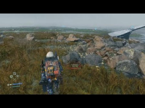 DEATH STRANDING: Passing through BT territory without a BB |