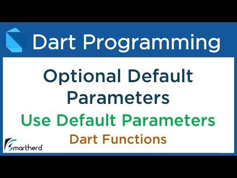 6 6 Dart Optional Default Parameters in Function  Dart Flutter