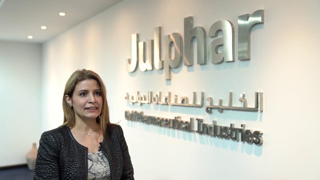 Dr Rawya Al Kredly, Head of Medical Affairs Department at Julphar
