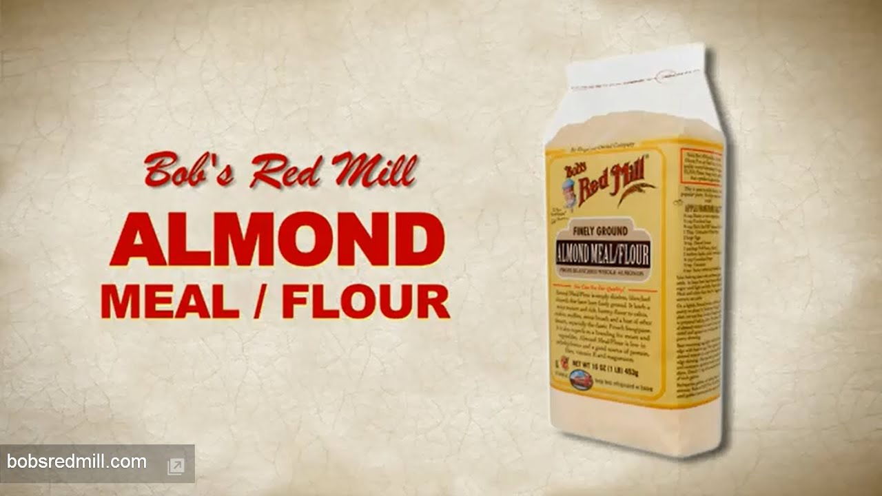 Almond Meal / Almond Flour | Bob's Red Mill - YouTube