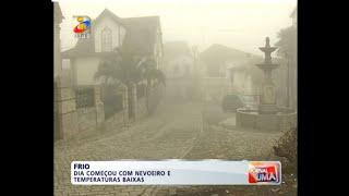 Frio em Carlão e Vila Chã - TVI