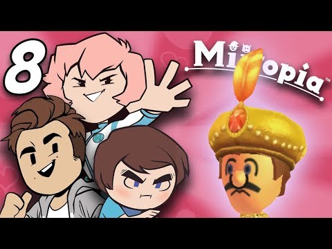 Miitopia: Plumber Prince - PART 8 - Grumpcade (ft. Jimmy Whetzel & Commander Holly)