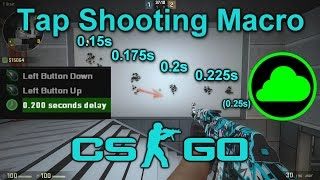 CS:GO | Tap Shooting Macro Tutorial For Razer Synapse