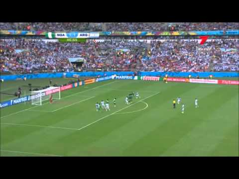 Video Highlights Argentina -- Nigeria 3 2