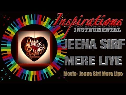 jeena sirf mere liye Instrumental on keyboard