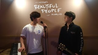 Gambar cover Ed Sheeran - Beautiful People (feat. Khalid) (Acoustic cover)