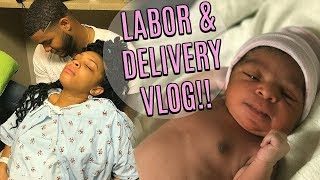 LABOR AND DELIVERY VLOG | BABY SKYLAR IS HERE!! | SEPTEMBER 2, 2017