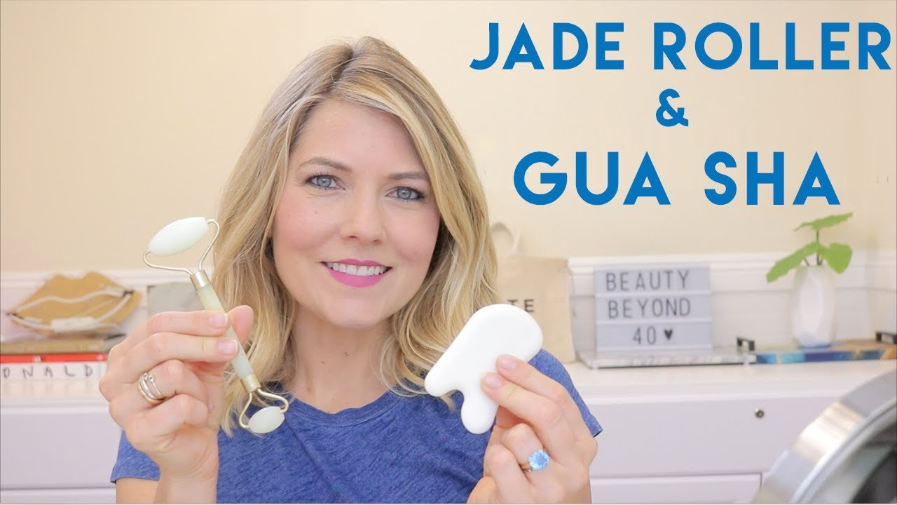 chinese jade face roller