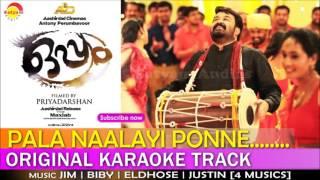 Pala Naalayi | Original Karaoke Track | Film Oppam | Malayalam Songs