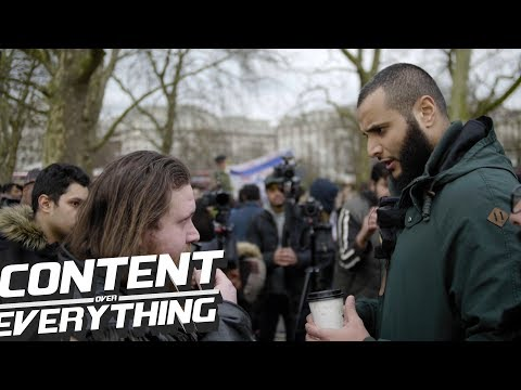 Muhammad Hijab Simba & Greg - Mysteries Of The Universe/Who Made God? | Speakers Corner Hyde Park