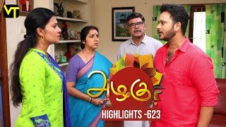 Azhagu Tamil Serial Episode 623 Daily Recap on Vision Time Tamil.
