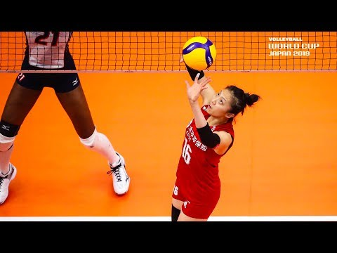 Ding Xia 丁霞 - Best Setter | World Cup Dream Team 2019