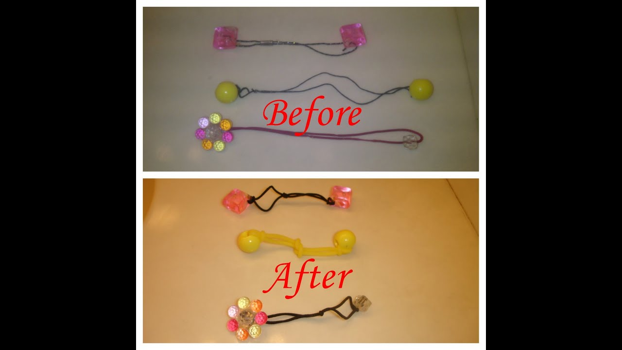 Fix Stretched Ponytail Holder Fast Easy YouTube - Ponytail cuff diy
