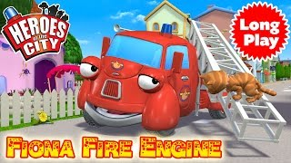 Heroes of the City - Bundle with Fiona Fire Engine - Preschool Animation -  Long Play