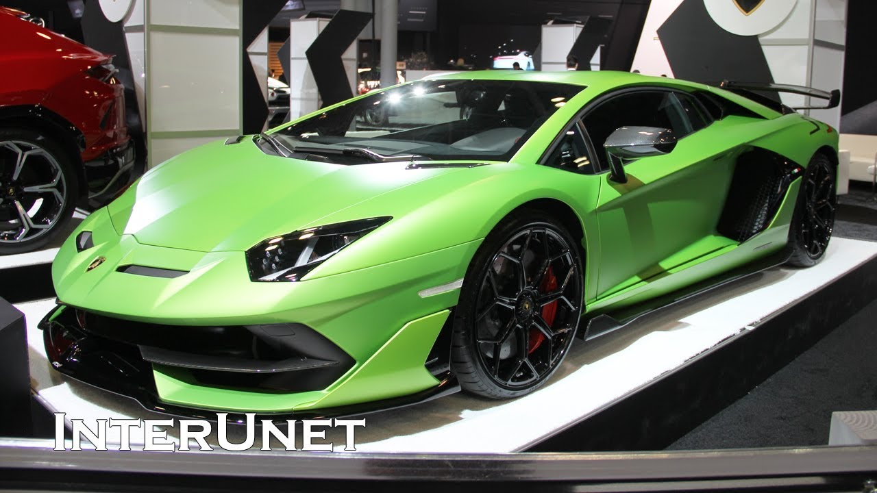 2020 Lamborghini Aventador Svj Roadster New 770 Hp Super Car