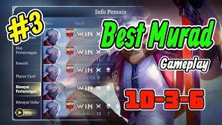 Best Murad Gameplay #3//10kills!!!garena Aov Indonesia