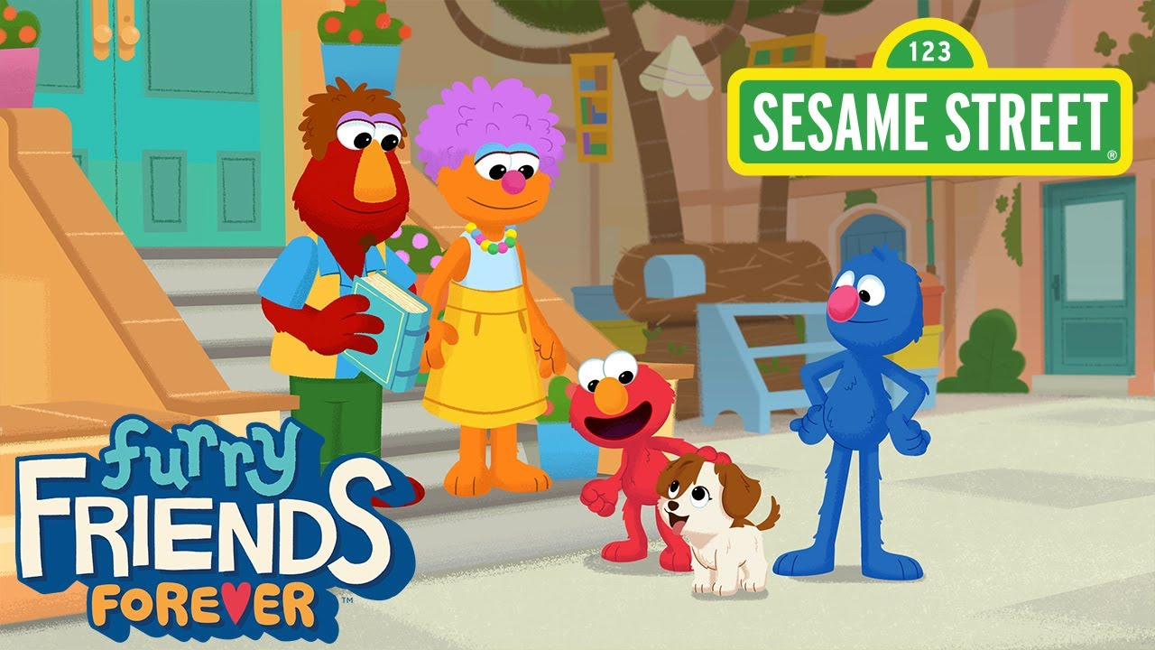 Sesame Street: Furry Friends Forever: Elmo Gets a Puppy | Available 8/5 on HBO Max