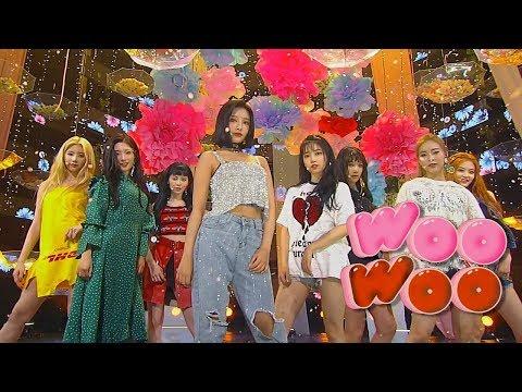 《Comeback Special》 DIA(다이아) - WooWoo(우우) @인기가요 Inkigayo 20180812