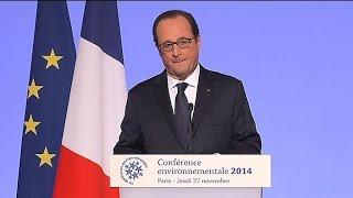 """Hollande plus écolo: """"A un moment il faut laisser sa trace"""""""