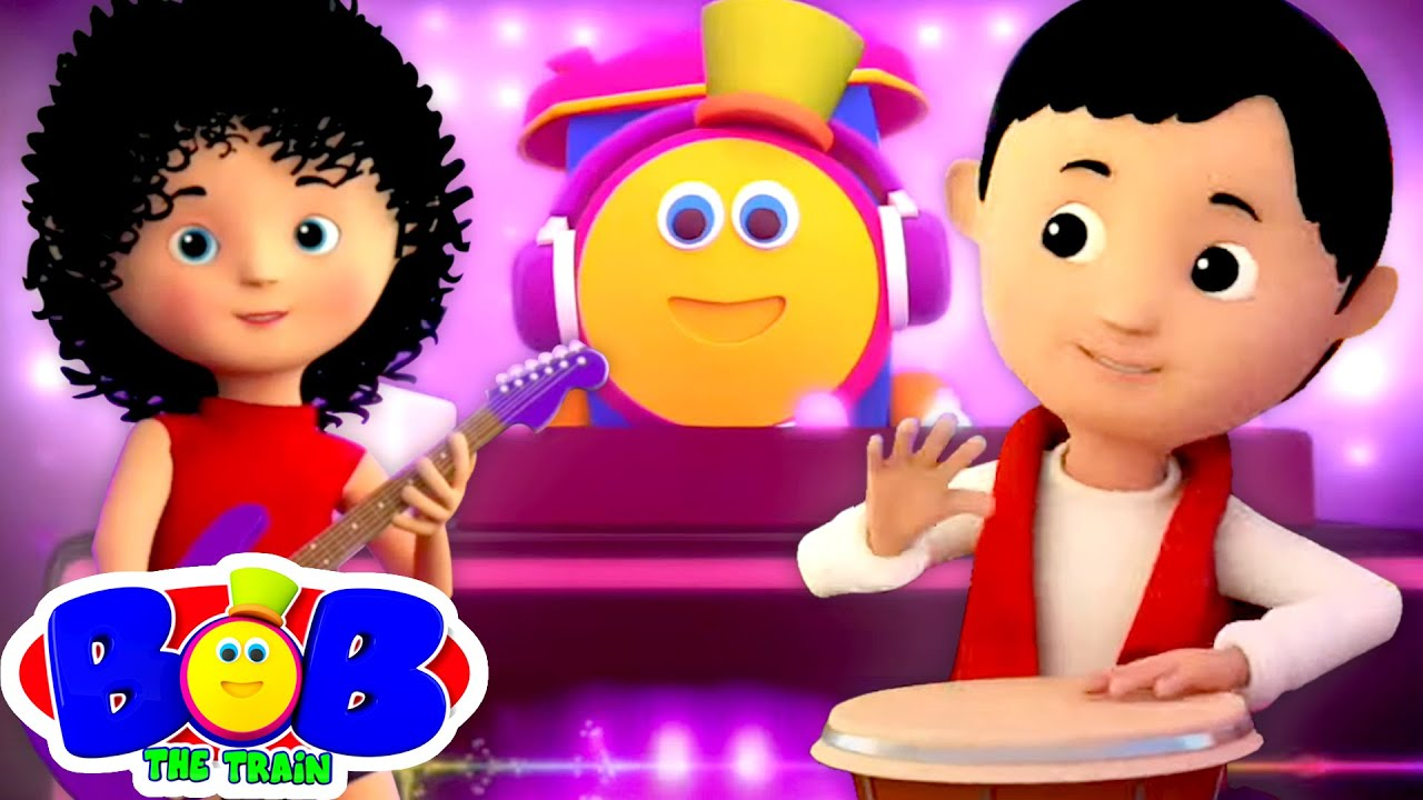 Download Let's Have Fun | Original Song by Bob The Train | Nursery Rhymes & Kids Songs | Kids Tv