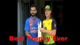 Ind Vs Aus 2018 Series Trophy Launch
