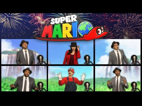 Super Mario Odyssey Theme Song Acapella! Jump Up, Super Star ft Katie Wilson