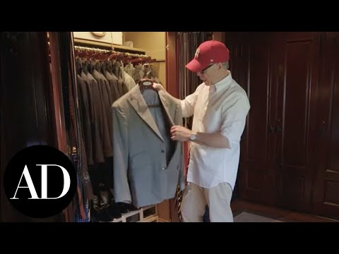 Inside Tommy Hilfiger's Closet | Closet Confidential | Architectural Digest