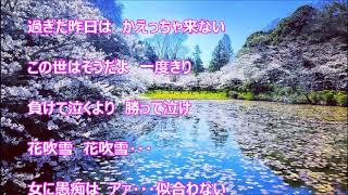 女の花吹雪(丘みどり)♪♪カバー(キー:♯2)