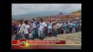 Tragedia en mina de Santander de Quilichao