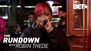 Grammy-Nominee Rapsody Performs 'Pay Up' At a Pool Hall | The Rundown With Robin Thede