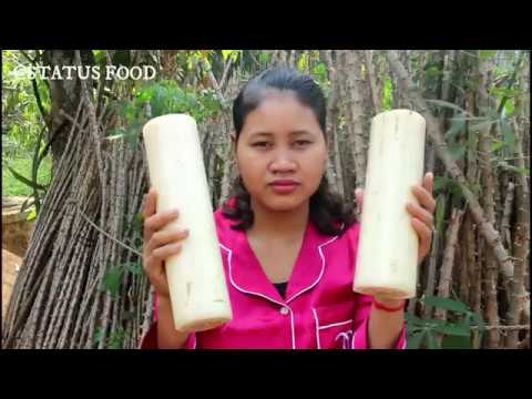 Awesome Cooking Soup Fish With Banana Stem Recipe - Cook Fish Recipes - Village Food Factory