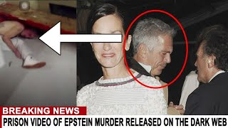 BREAKING: PRISON VIDEO OF EPSTEIN MURDER RELEASED ON THE DARK WEB
