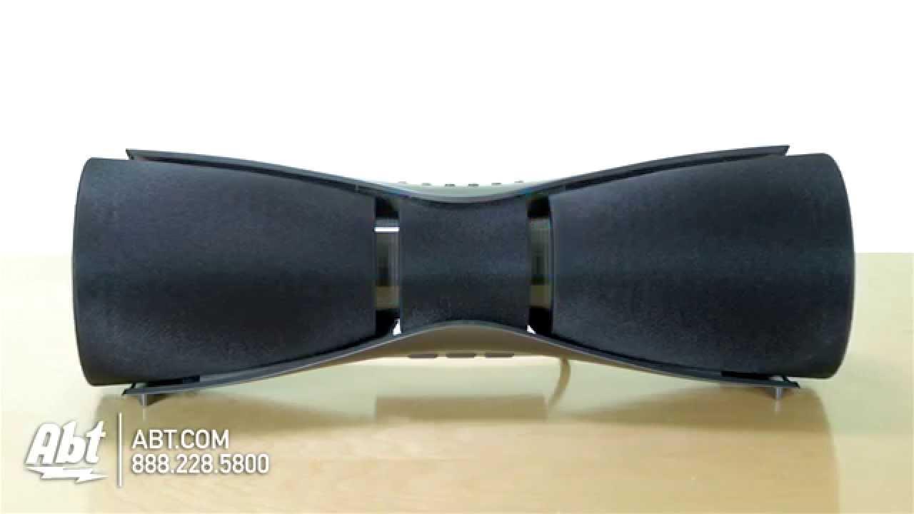Sharp Wireless Bluetooth Speaker System GXBT7 Overview