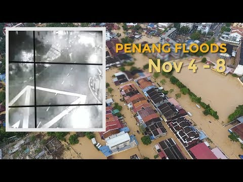 Penang floods: Five days on