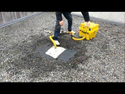 clb services recherche de fuite par fumig ne toiture terrasse youtube. Black Bedroom Furniture Sets. Home Design Ideas