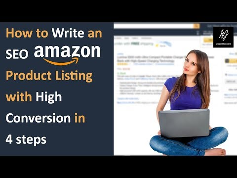 How To Write An SEO Amazon Product Listing With High Conversion Rates In 4 Easy Steps