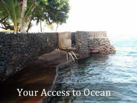 Kapoho Oceanside Villa Home An Oceanfront House Near